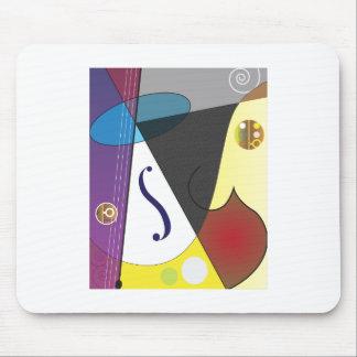 クラシック音楽のデザイン マウスパッド