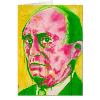 クラシック音楽の挨拶状- Schoenberg カード