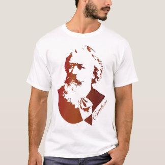 クラシック音楽作曲家のヨハネス・ブラームスのティー Tシャツ