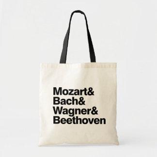 クラシック音楽-作曲家バンドおもしろいなバッグ トートバッグ