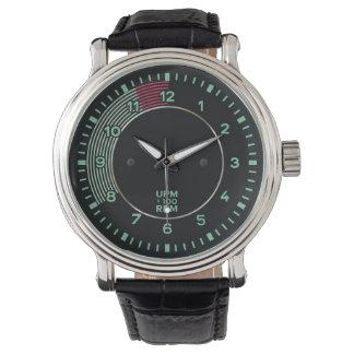 クラシック356 revのカウンター、古いエア冷却されたスポーツ・カー 腕時計