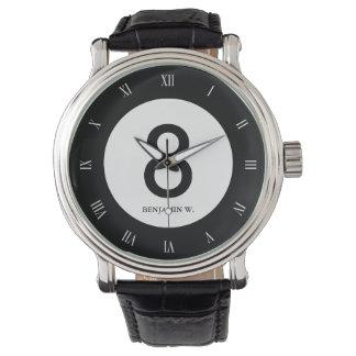 クラシック8の球 腕時計