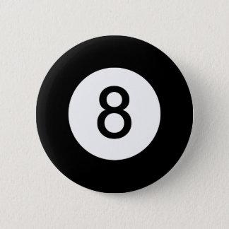 クラシック8の球 5.7CM 丸型バッジ
