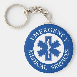 クラシックEMT EMSの救急医療隊員の記号 キーホルダー