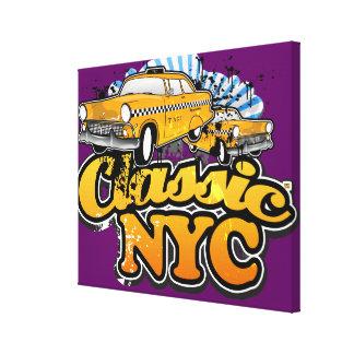 クラシックNYC キャンバスプリント