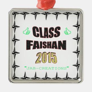 クラスのFaishanの2015年のイメージ メタルオーナメント