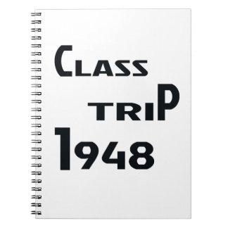 クラス旅行1948年 ノートブック