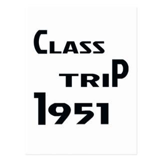 クラス旅行1951年 はがき
