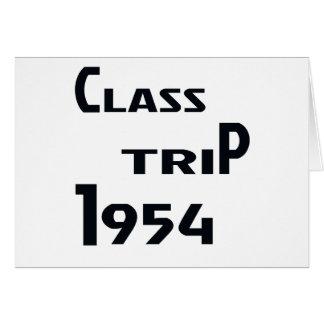 クラス旅行1954年 カード