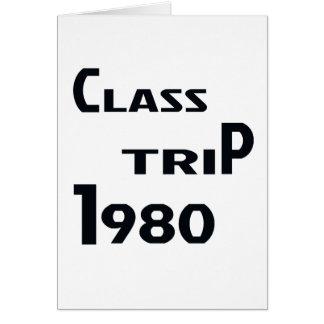 クラス旅行1980年 カード