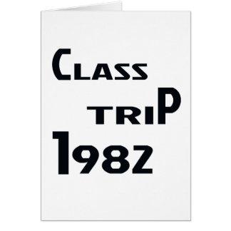 クラス旅行1982年 カード