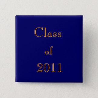 クラス、の、2011年 5.1CM 正方形バッジ
