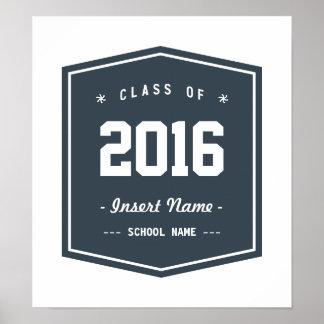 クラス-木炭ヴィンテージ ポスター