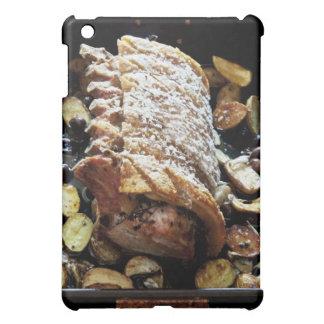 クラックリング、ポテトが付いているオーブンのRoasteのzporkの腰部 iPad Miniケース