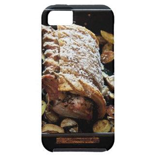 クラックリング、ポテトが付いているオーブンのRoasteのzporkの腰部 iPhone SE/5/5s ケース