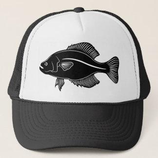 クラッピーの魚 キャップ