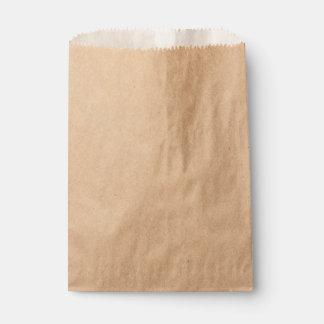 クラフトの紙袋 フェイバーバッグ