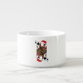 クラブのメリークリスマスの女王-あなたのイメージを加えて下さい チリボウル