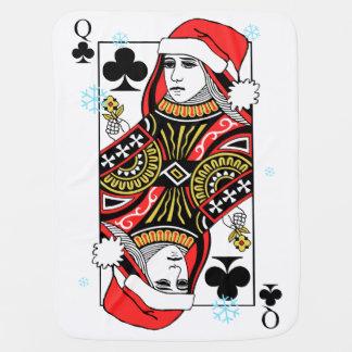 クラブのメリークリスマスの女王 ベビー ブランケット