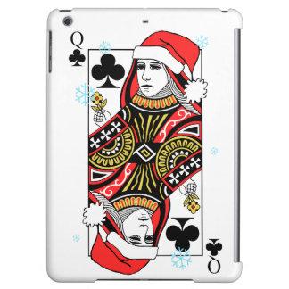 クラブのメリークリスマスの女王 iPad AIRケース