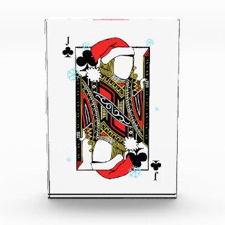 クラブのメリークリスマスジャック-あなたのイメージを加えて下さい 表彰盾