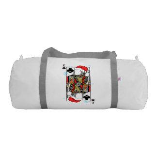 クラブのメリークリスマス王-あなたのイメージを加えて下さい ジムバッグ