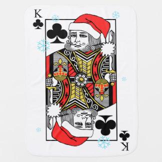 クラブのメリークリスマス王 ベビー ブランケット
