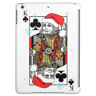 クラブのメリークリスマス王 iPad AIRケース