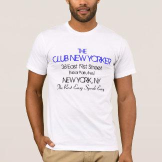 クラブニューヨーカーは容易な禁止のヴィンテージを話します Tシャツ