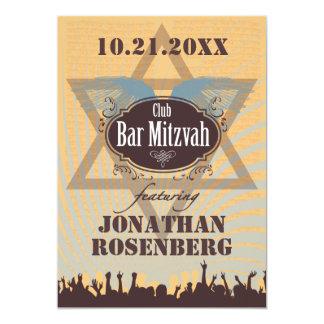 クラブバー(ユダヤ教の)バル・ミツバー カード