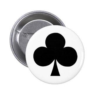 クラブボタンのエース 5.7CM 丸型バッジ