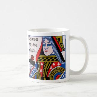 クラブマグの女王 コーヒーマグカップ