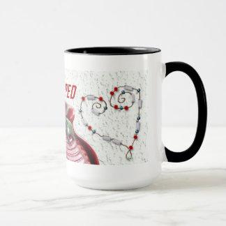 クラブ赤いマグのデザイン#222 マグカップ