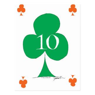 クラブ、贅沢なfernandesの幸運なアイルランド語10 ポストカード