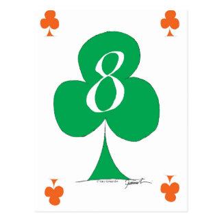 クラブ、贅沢なfernandesの幸運なアイルランド語8 ポストカード