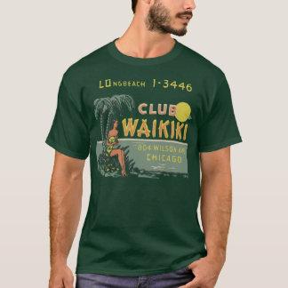 クラブWaikiki (前部および背部) Tシャツ
