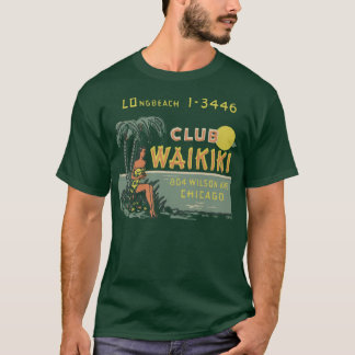 クラブWaikiki Tシャツ
