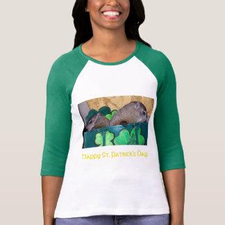 クララおよびMaudeセントパトリック日のTシャツ Tシャツ