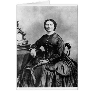 クララバートンのポートレートの~のヴィンテージの1866年の写真 カード
