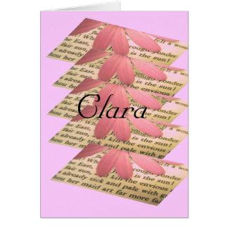 クララ カード