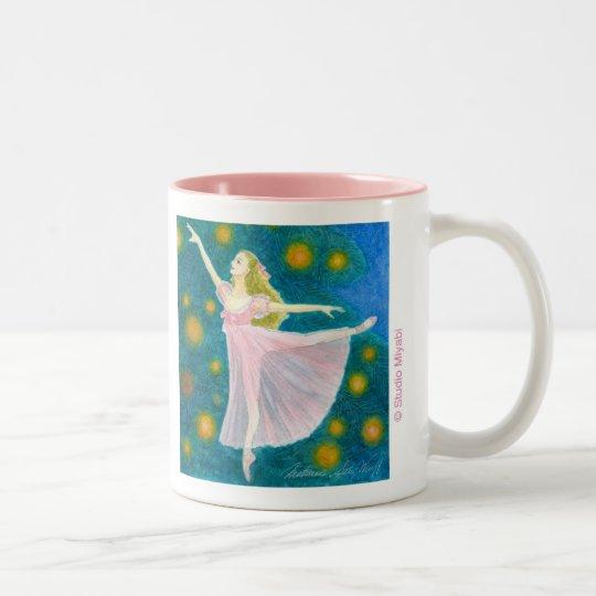 クララ バレエマグカップ ツートーンマグカップ