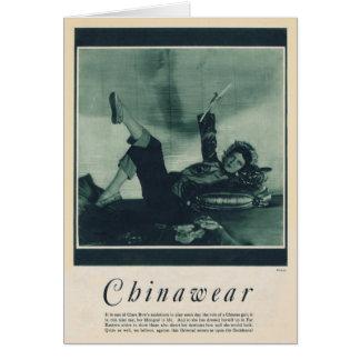 クララ・ボウの1929年のヴィンテージのポートレートカード カード