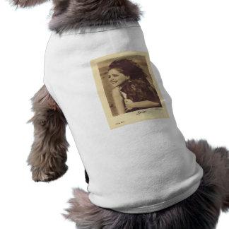 クララ・ボウの1931年のポートレートw/dogの小犬のワイシャツ ペット服