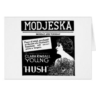 クララKimballの若い静けさ1921年 カード