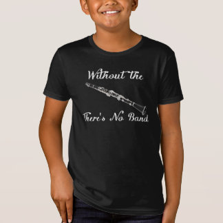 クラリネットは」アメリカの服装のオーガニックで暗いティーをからかいます Tシャツ