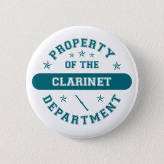 クラリネット部の特性 5.7CM 丸型バッジ
