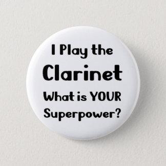クラリネット 缶バッジ