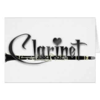 クラリネットI愛クラリネット カード