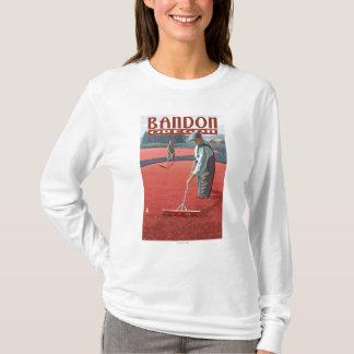 クランベリーの沼地の収穫- Bandon、オレゴン Tシャツ