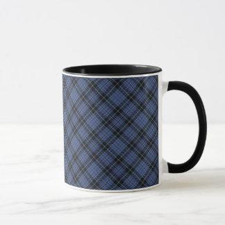 クラークスコットランドの一族のタータンチェックのマグ マグカップ